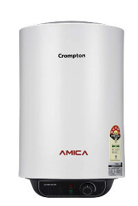 crompton amica 15 litre storage water heater