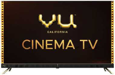 Vu 43 inches 4K Ultra HD  cinema is the cheap & best smart tv in india