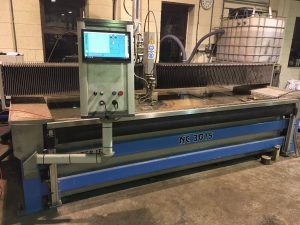 Waterjet Sweden upgrade