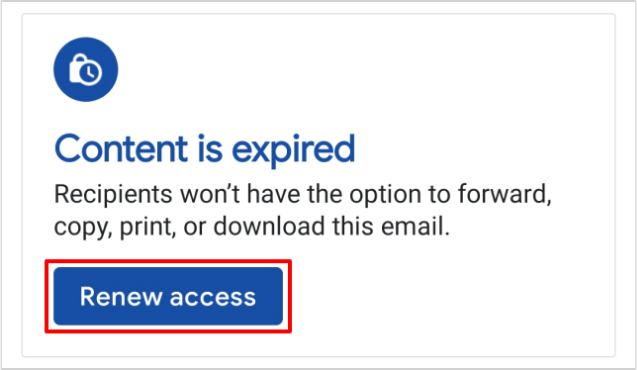 Renew-Access-Confidentail-Email