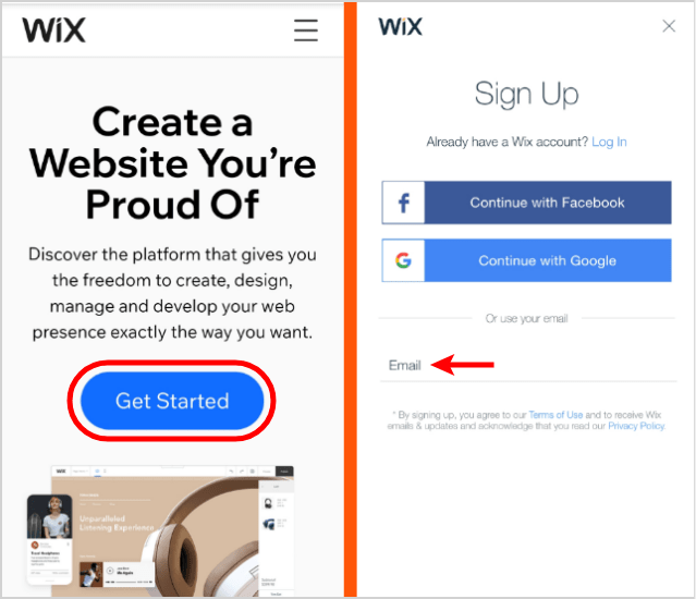 Wix-Create-Free-Website