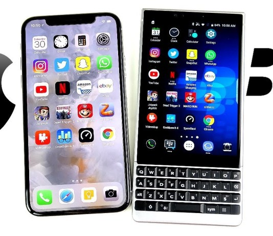 Blackberry Vs Iphone