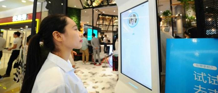 Cashless Shopping - Facial Payment Technology