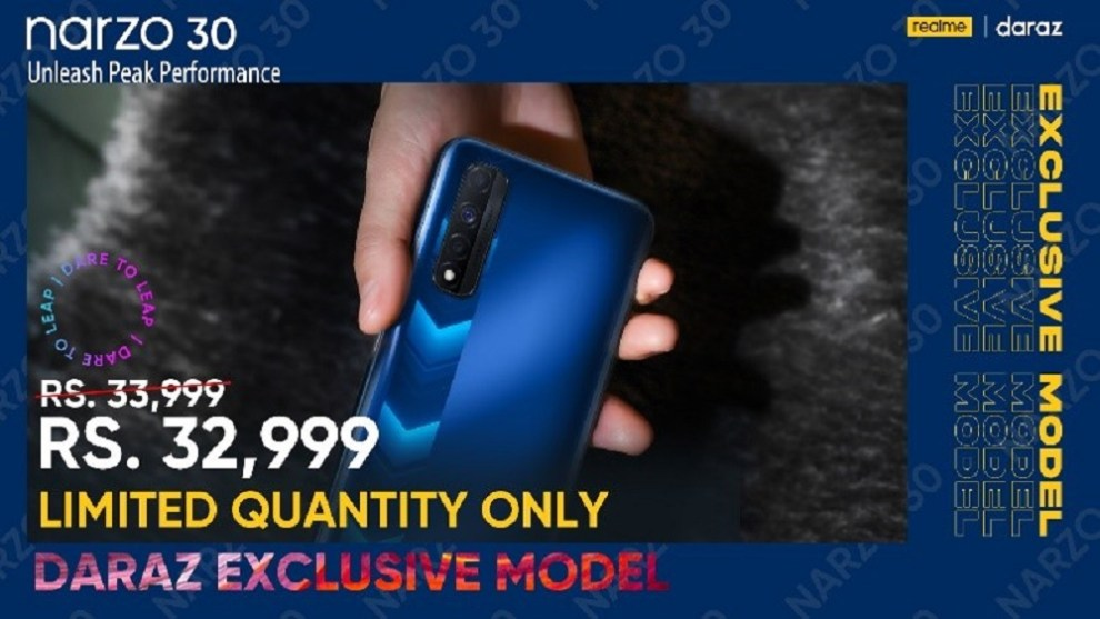 A Groovy Anthem and a Surprise Announcement launched realme Narzo 30 and realme C21
