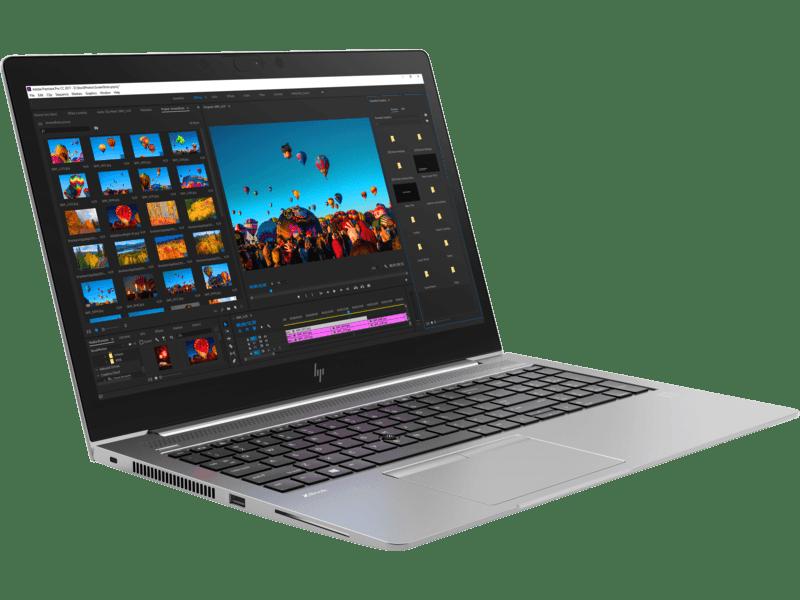 HP ZBook 15u G5 side 2