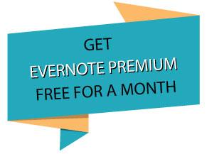 evernote premium for free
