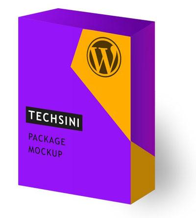 Software Package Mockup