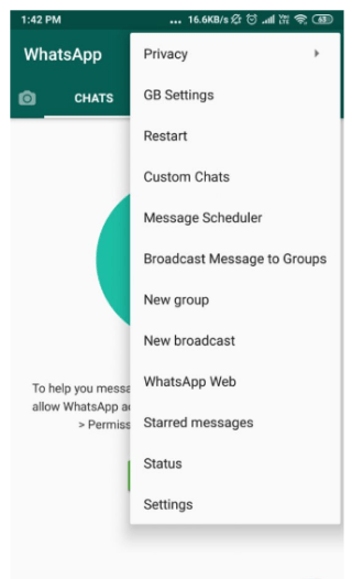 GBwhatsapp New Version download apk