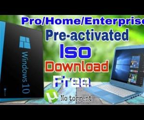 Windows 10 Pro/Enterprise Preactivated Multilanguage July 2019 ISO
