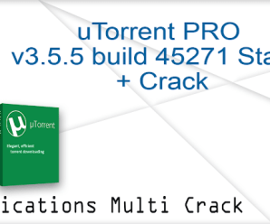 uTorrent pro crack 3.5.5 Build 45225 Stable