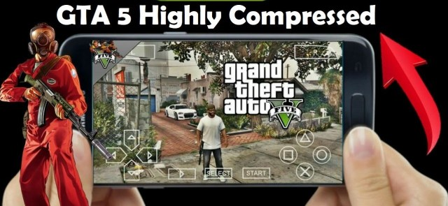 How to download and Play GTA 5 ISO File on PPSSPP Working