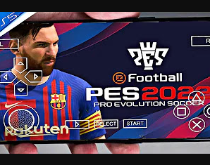 PES 2022 PPSSPP Download PS5 Camera English ISO