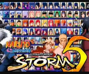 Naruto Mugen Apk [ 150 Characters ] Storm 5 Download