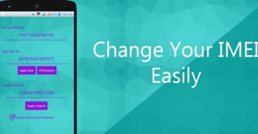 How to change android IMEI