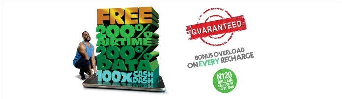 glo overload promo on recharge and data