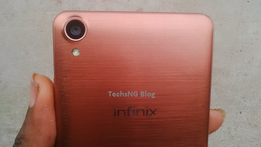 infinix hot note camera