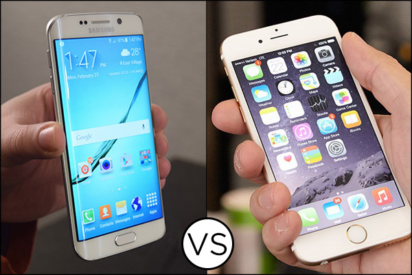 Samsung Galaxy s6 vs iPhone 6 in drop test video