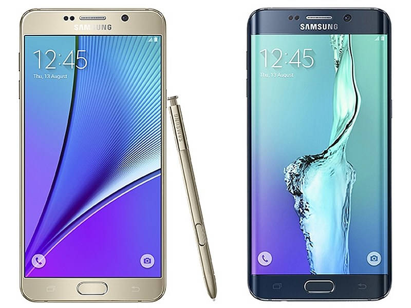 Samsung Galaxy Note 5 and Galaxy S6 Edge plus prices