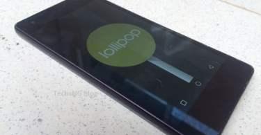 infinix zero 2 x509 running android 5.1 lollipop OS