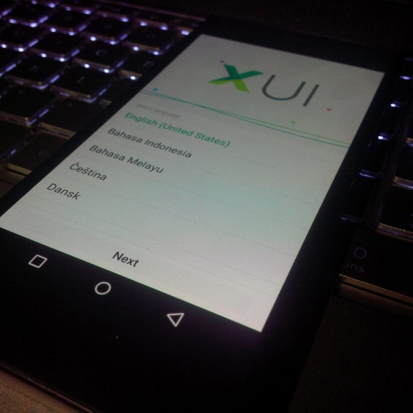 Infinix Zero 2 running android 5.1 lollipop XUI OS update