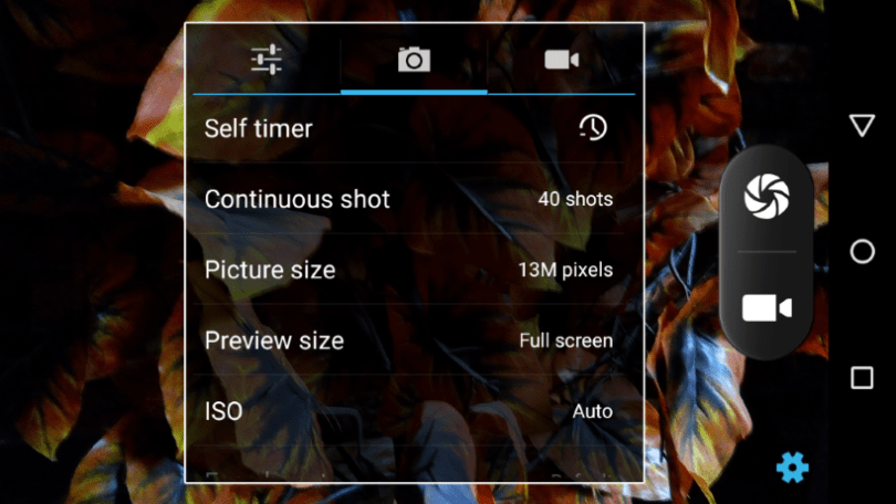 infinix zero 2 x509 camera settings