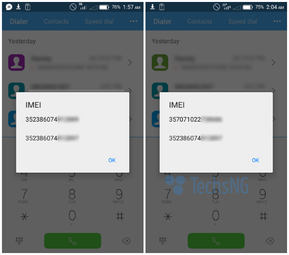 Here's How To Change Tecno Camon C8 IMEI Numbers Successfully