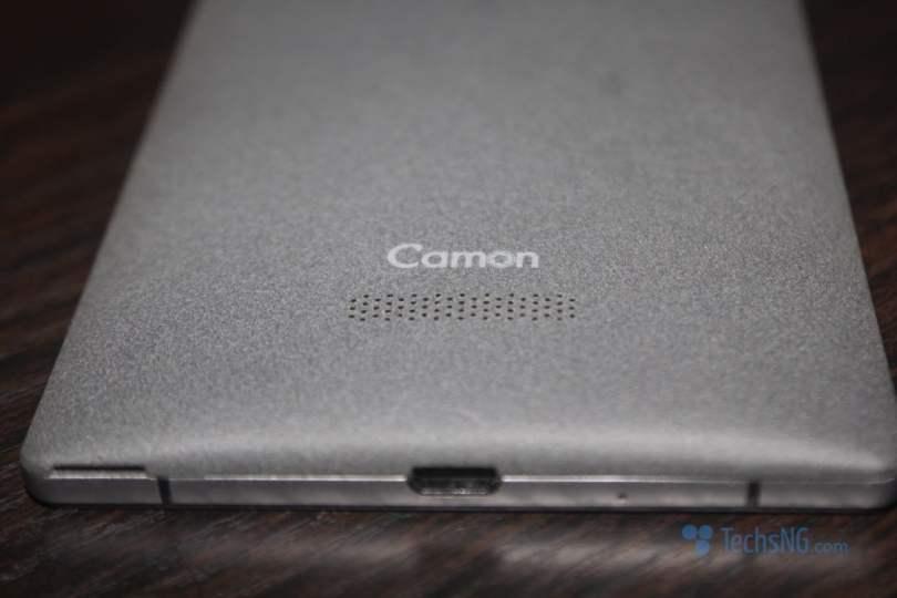 tecno camon c9 loudspeaker placement