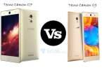 tecno camon c7 vs C9 specs comparison