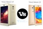 tecno camon c7 vs C9 specs comparison