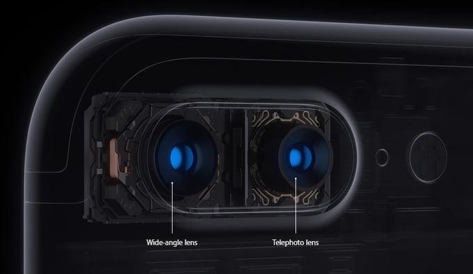 iPhone 7 Plus dual camera specs