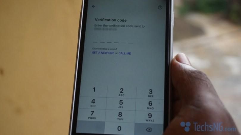 Input correct phone number