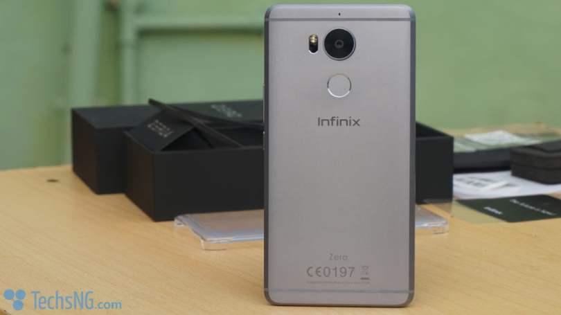 Infinix Zero 4 design