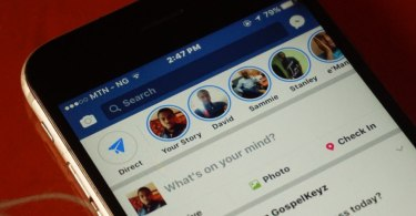 Facebook stories on iPhone and Android