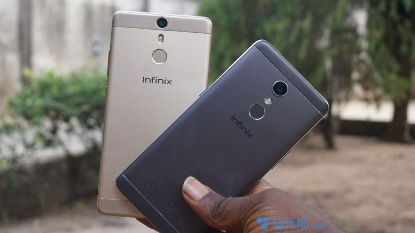 Infinix Hot S and infinix Hot S2 design