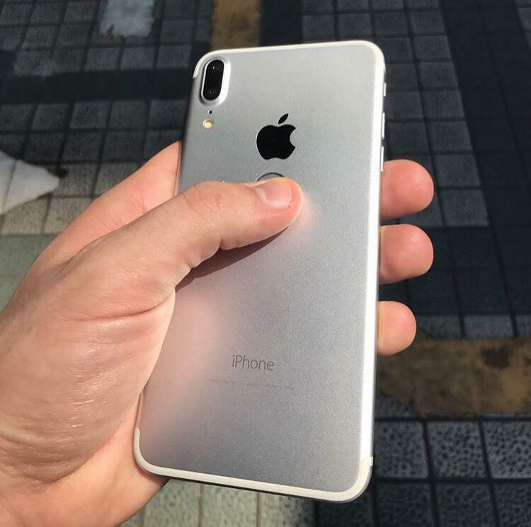 iPhone 8 back view