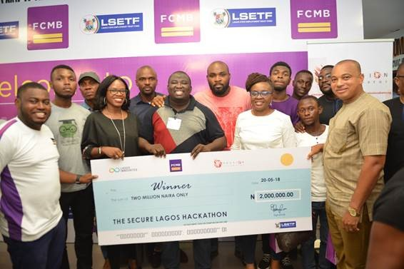 "LSFlow wins N2M In FCMB-Sponsored ""Secure Lagos Hackathon"""