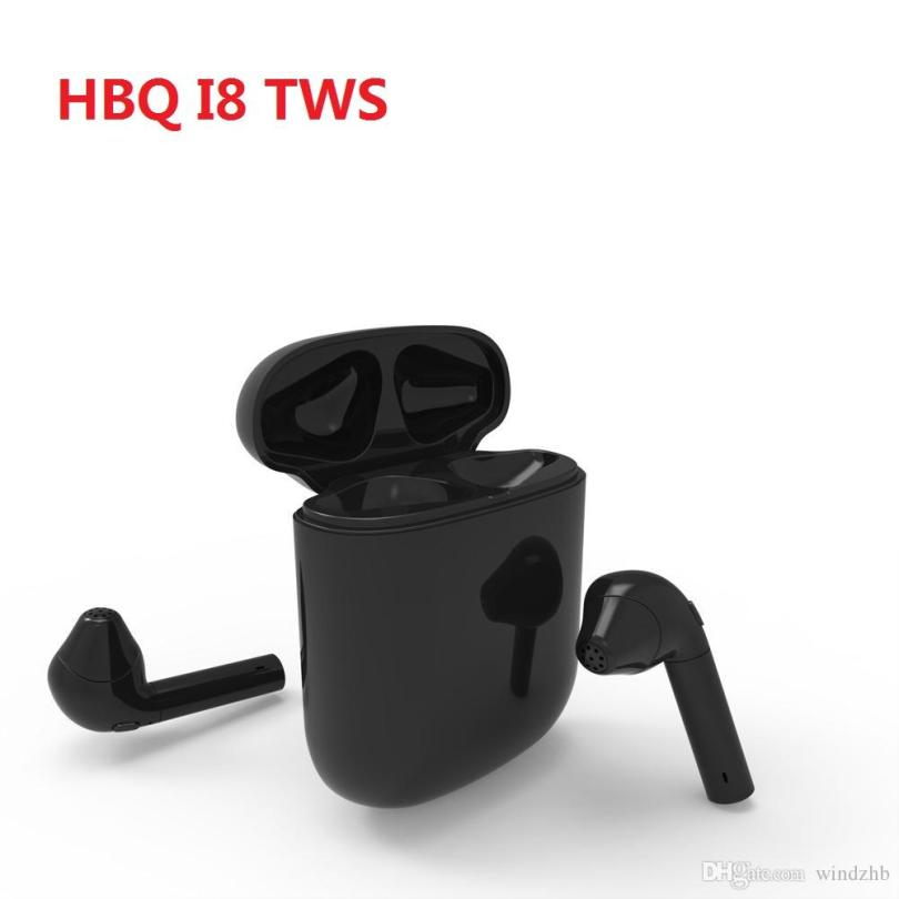 HBQ-i8 Mini TWS Earphones Dual Wireless Bluetooth Earbuds
