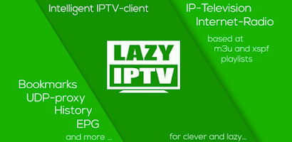 LAZY IPTV app for android