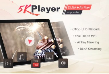 5KPlayer best music player for windows 10 and Mac