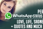 Whatsapp status quotes