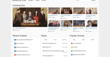 Dramabus website to download asian drama, korea movies and shows