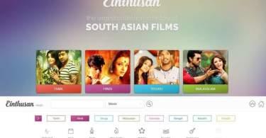 einthusan TV Watch movies online