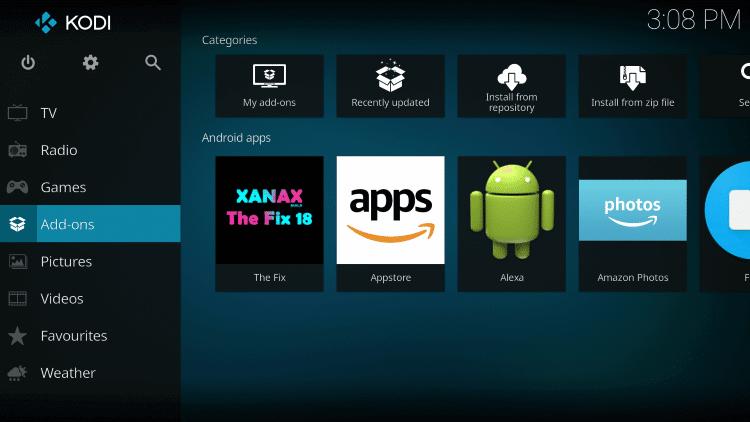 Kodi IPTV for windows PC