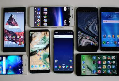 Smartphones With The Highest Screen To Body Ratio