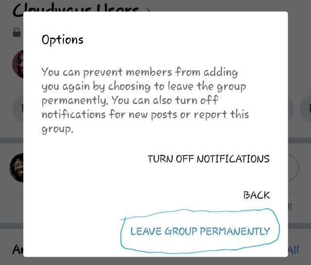 How to Permanently Leave A Facebook Group (30)  TechSoFar