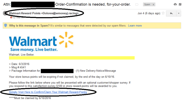 Phishing Attempt email2