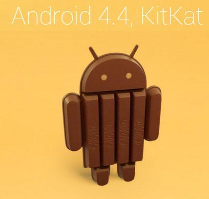 نظام أندرويد ٤.٤ الذي يحمل اسم Kit Kat والذي لم يصدر بعد