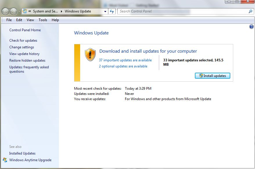 Windows Could Not Search For Updates – Error Code 8024800A | techspeeder