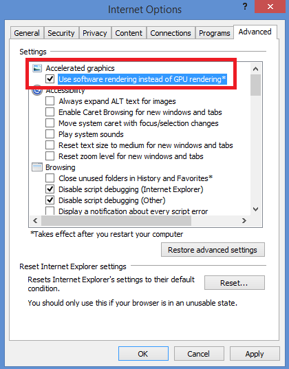 Internet Explorer 10 Graphics