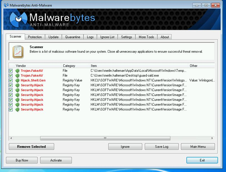 Remove Viruses